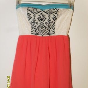 Size Small Flying Tomato Strapless Dress